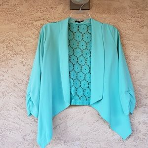 Mint blazer lace size large